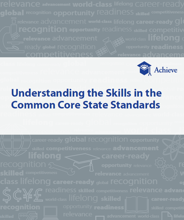 Cover of Understanding the Skills in the Common Core State Standards
