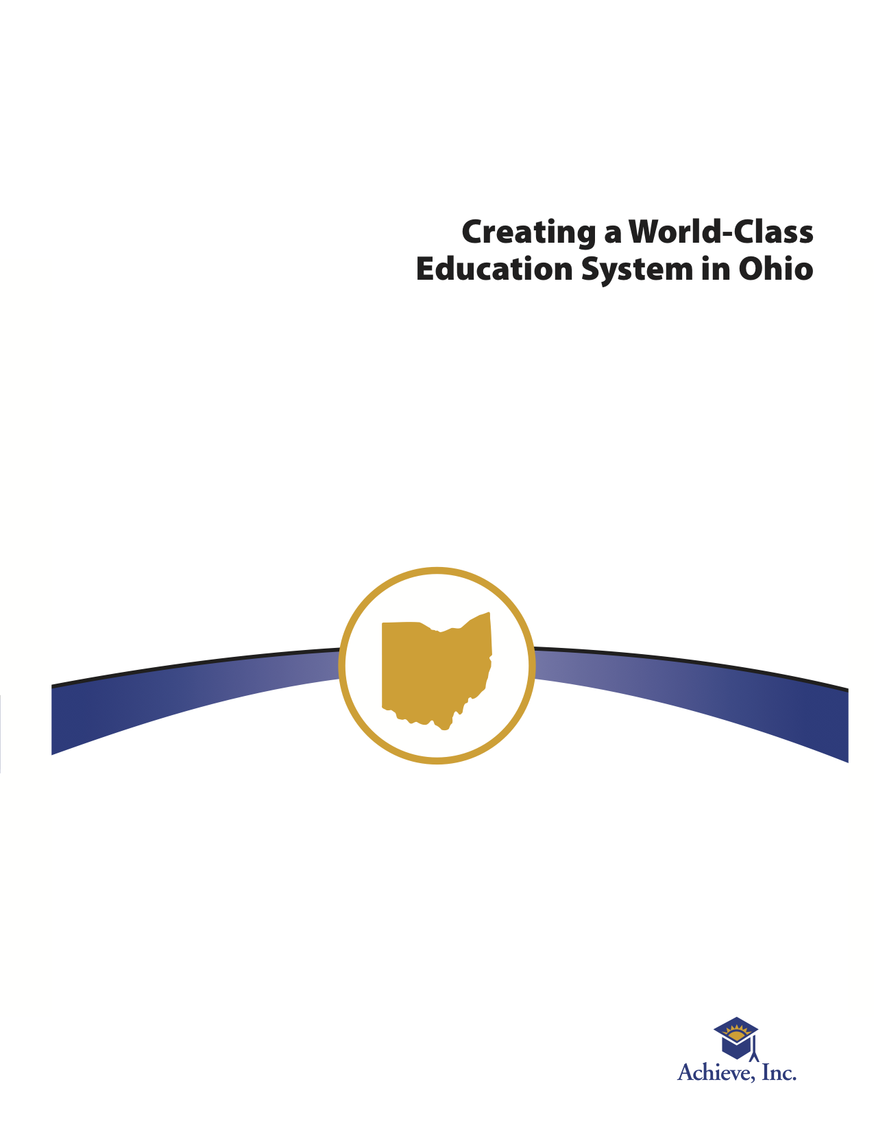 Creating a World-Class Education System in Ohio Cover