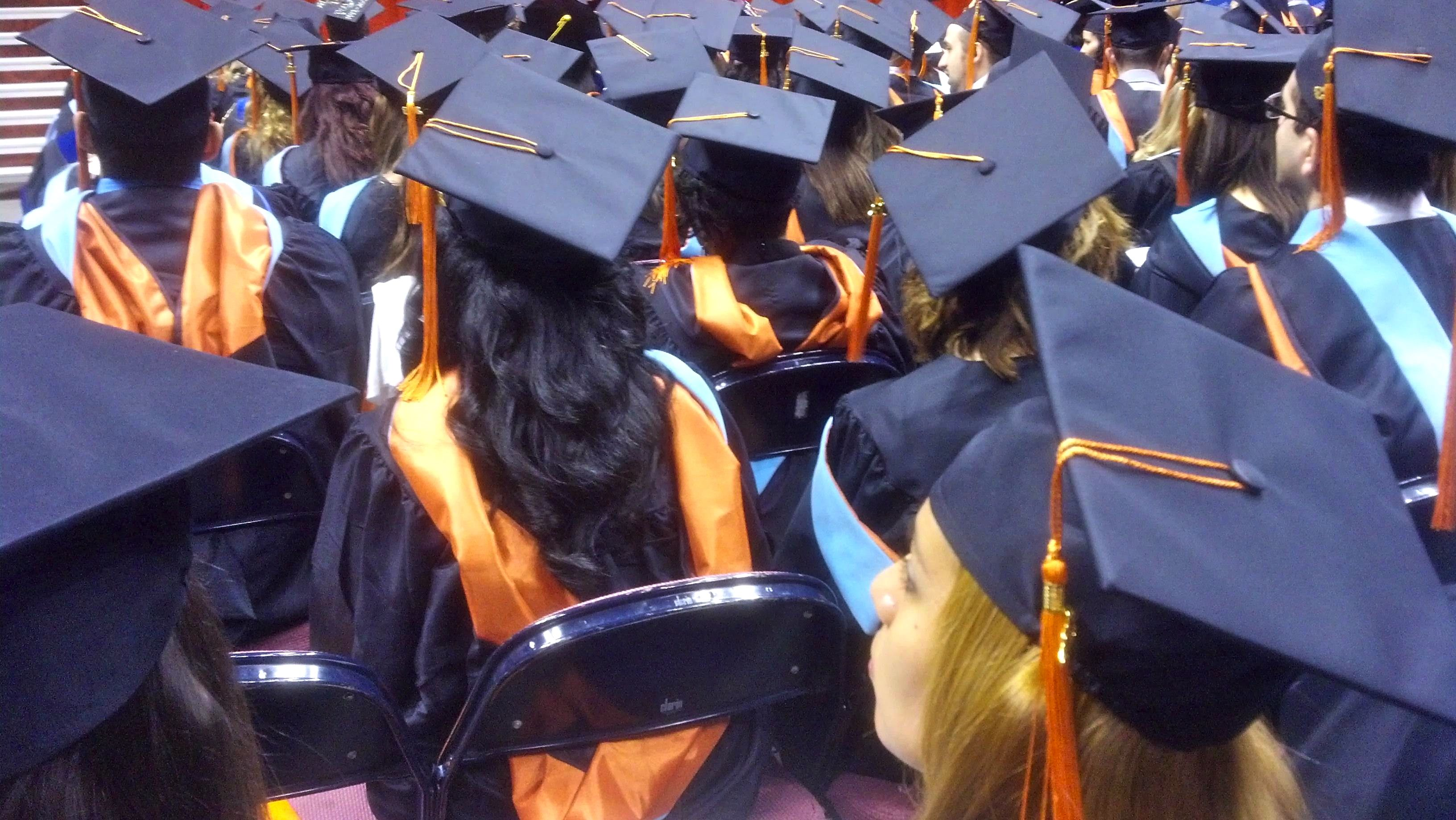 Picture from a graduation ceremony.