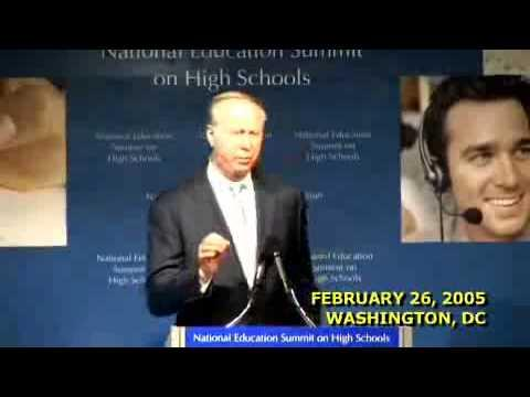 Embedded thumbnail for National Education Summit on High Schools - David Gergen