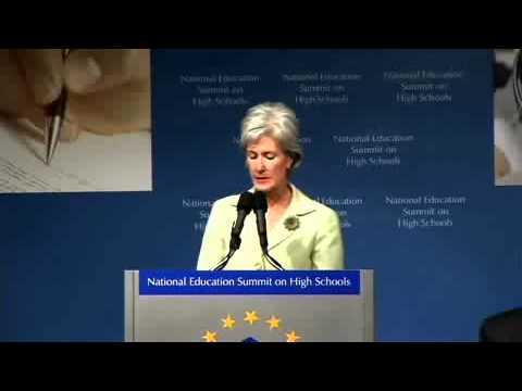 Embedded thumbnail for National Education Summit on High Schools - Kathleen Sebelius