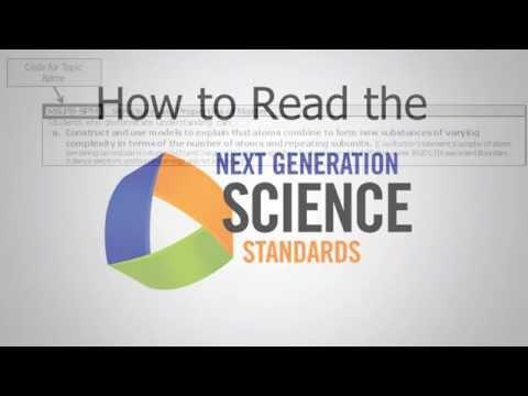Embedded thumbnail for How to Read the Next Generation Science Standards